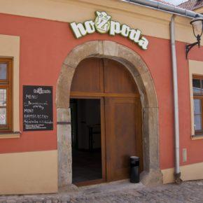 Gourmet Jižní Morava - pivnice a pivovary jižní Morava - Restaurant hoZpoda Znojmo